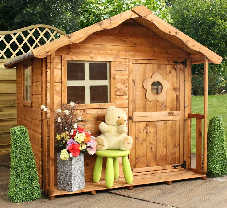 Best Childrens Wooden Playhouse Ideas On Pinterest Wooden