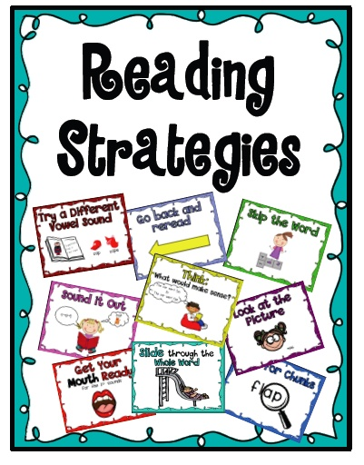 Reading Strategies Posters and bookmark product from Sarah-Paul on TeachersNotebook.com