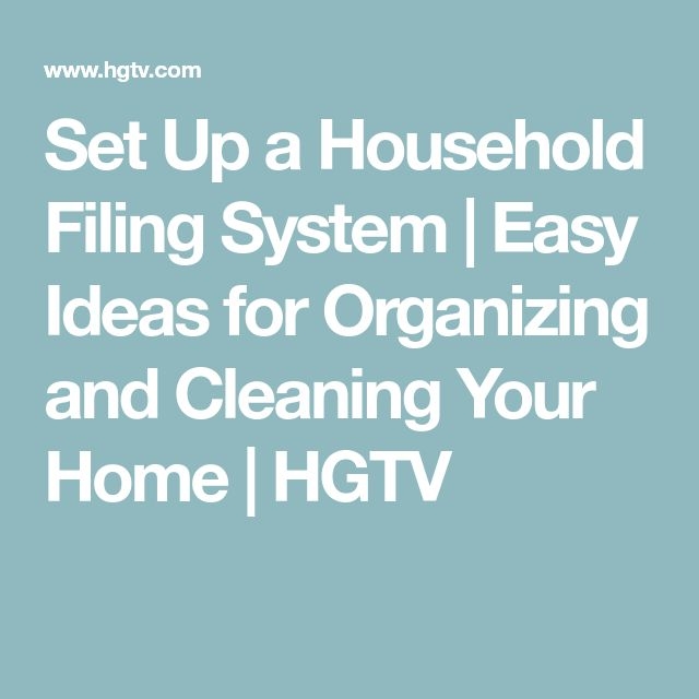 how to set up an accounting filing system