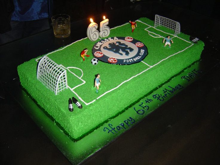 Chelsea English Soccer team cake by A&J Cakes, Perth, Western Australia.