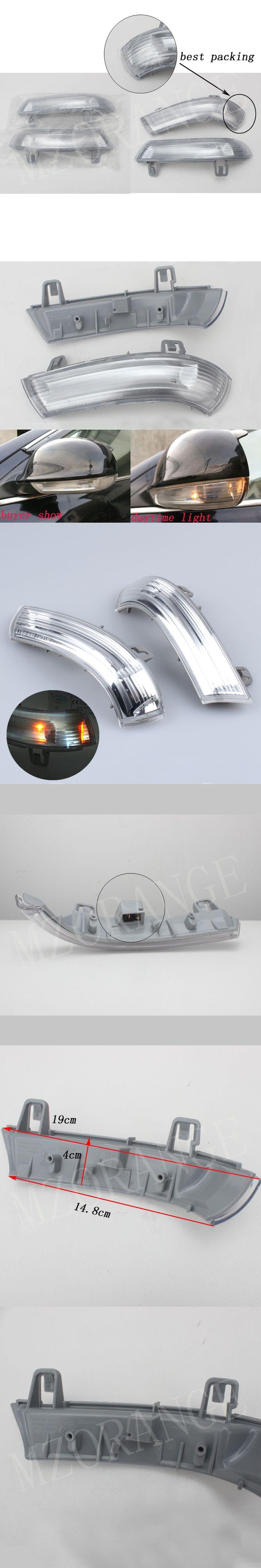 Car Styling Side Mirror Turn Signals LED Lights For Volkswagen VW Golf 5 6 V VI PLUS Passat B5 B6 Variant Sharan JETTA Sagitar