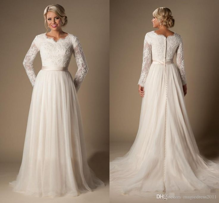 Modest Plus Size Wedding Dresses Utah 42