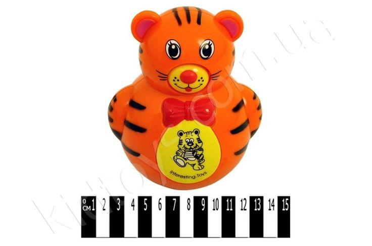 Неваляшка муз. ведмедик 6688-1, развивающие игрушки интернет магазин, игрушки маша и медведь, коляски для девочек, игрушки hasbro купить, магазин детских, детские игрушки от 2 лет