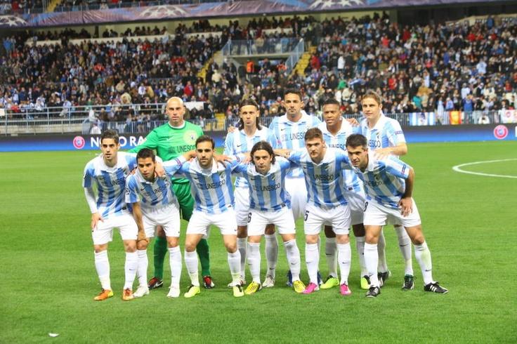 Equipo Las mejores imágenes del Málaga - Oporto de Champions
