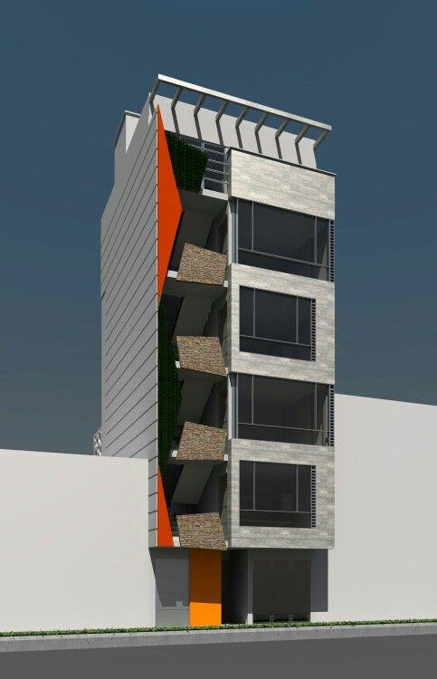 Torre 36 diseño Fachada Tipo 1