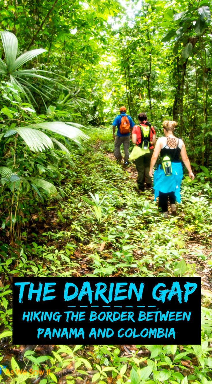 how to pass the darien gap
