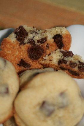 Cookies moelleux aux pépites de chocolat DELICIEUX!!!