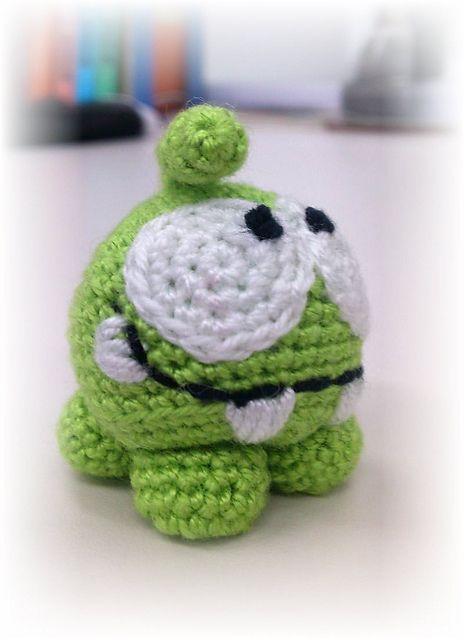 Ravelry: Om Nom pattern by fishmamma crochet amigurumi free pattern