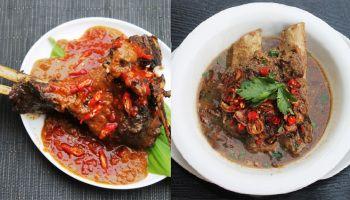 Resep Sup  Konro Bakar Iga Sapi Khas Makassar (Indonesian Spicy Beef Ribs Soup, Barbequed with Peanut Sauce)