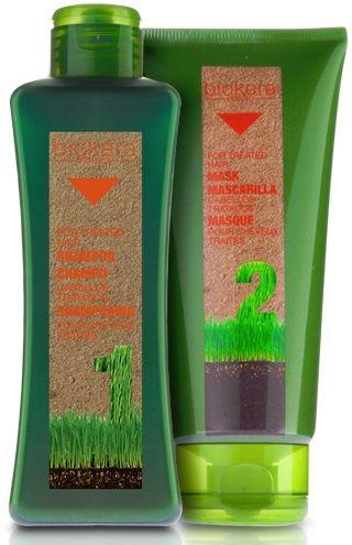 Biokera Capelli Trattati Con olio di macadamia e di lampone che apporta nutrienti e antiossidanti, formulati a base di un attivo che protegge il colore e aiuta a recuperare la fibra capillare.