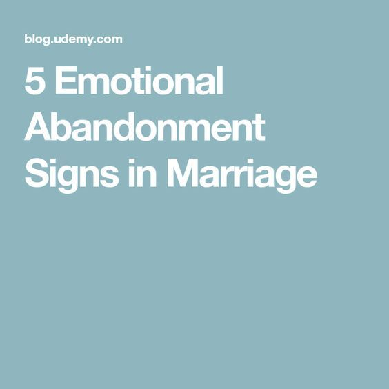 5 Emotional Abandonment Signs in Marriage