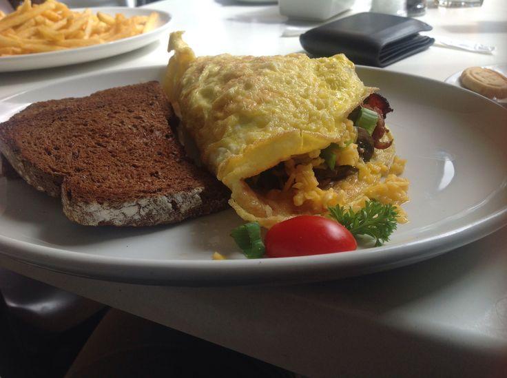 #breakfast #omelette #morning