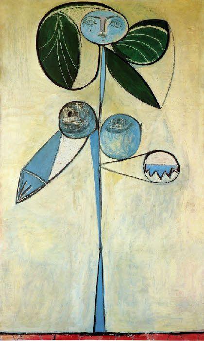 La Femme Fleur, Picasso.