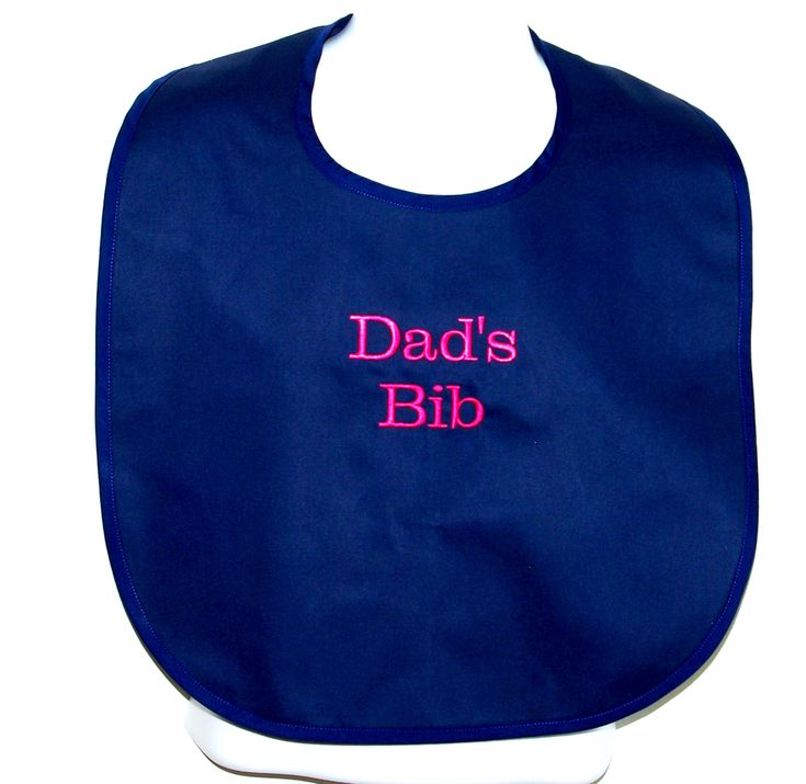 Adult bibs personalized