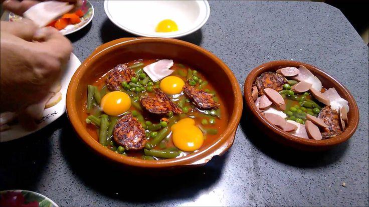 Huevos a la Cazuela (al Microondas o al Horno)