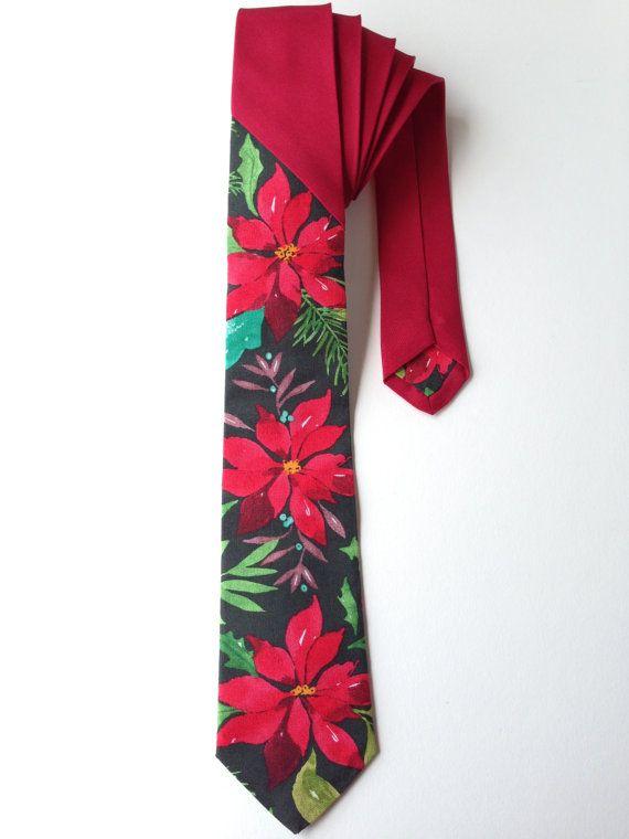 Christmas Tie Holiday Tie Christmas Tie for Men by WatfordTies