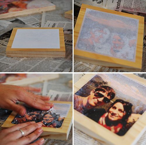 DIY Photo Transfers: Printed Pictures, Picture On Wood, Photo Transfer, Family Photos, Answers, Diy Craft, Families