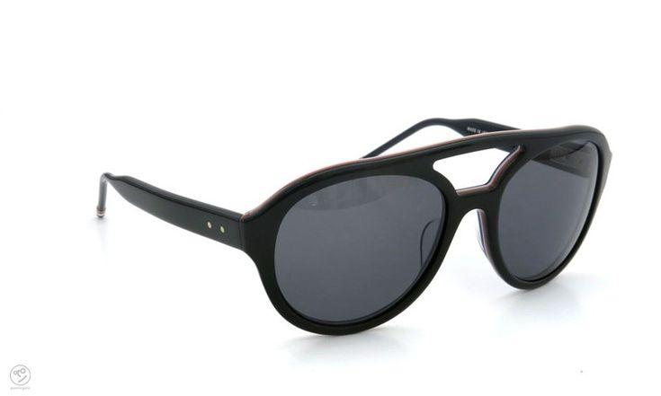 THOM BROWNE. eyewear archive TB-301-A-T-BLK-54