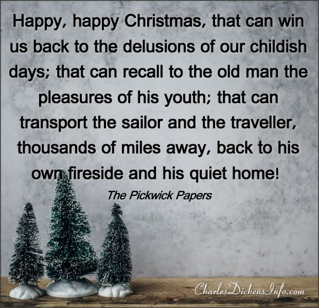 Happy Happy Christmas Charles Dickens Quotes Paper Quote Quotes