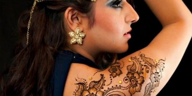 Full Body Arabic Mehndi Designs 2015