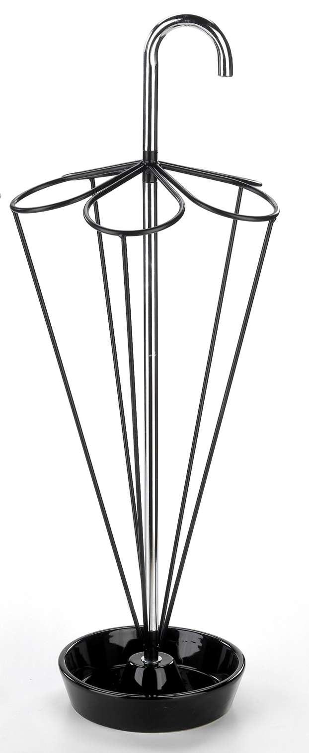 """""""Ombrello"""", in metallo cromato Ø cm 22x78. Prezzo: € 65,00  http://www.leonardo.tv/natale-decorazioni/regali-natale-idee-particolari/maiuguali-ombrello"""