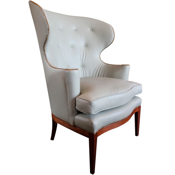 1940's Wingback chair by Edward Wormley for Dunbar