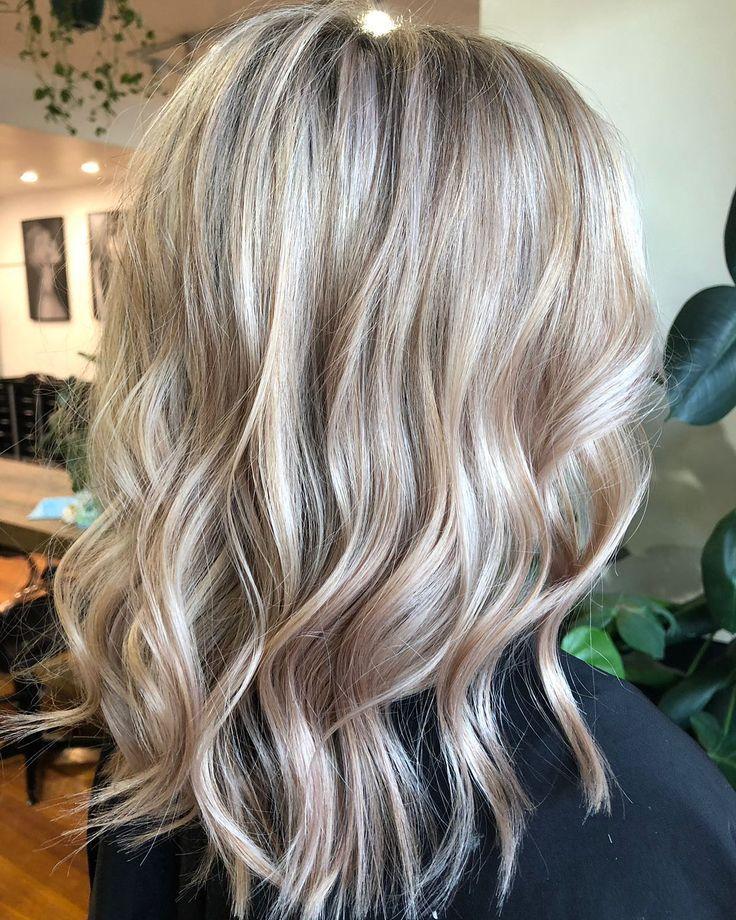 Pin By Katie Remillard On Hair In 2020 Blonde Foils Creamy