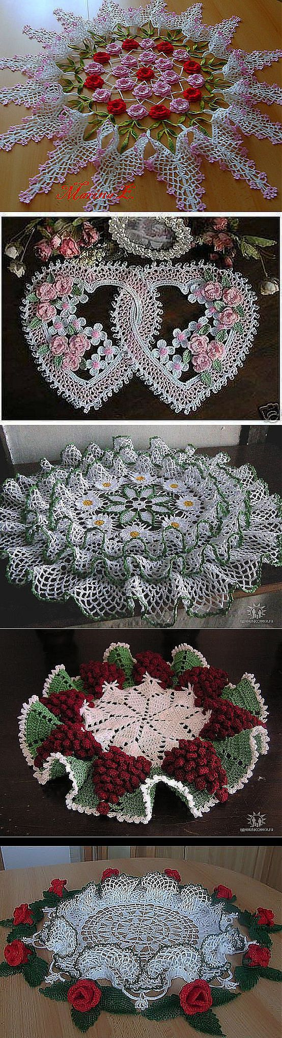 liveinternet.ru. My grandmother used to make these beautiful doilies.