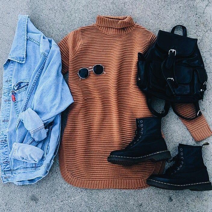 25 süße Casual-Chic Outfit-Ideen für den Herbst…