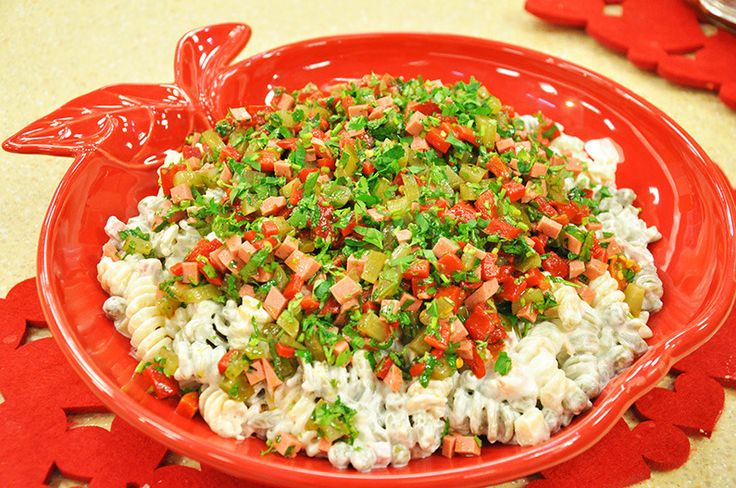 Renkli Makarna Salatası - Oktay Usta Salata Tarifleri