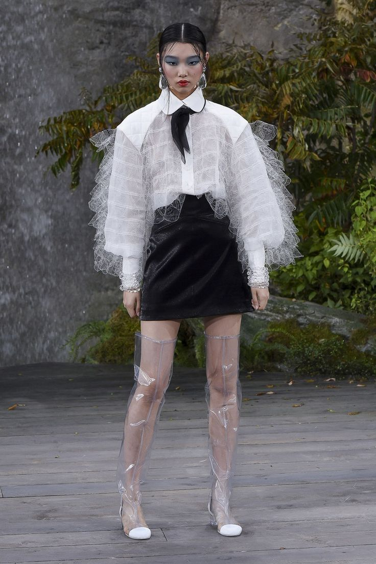 Chanel | Ready-to-Wear - Spring 2018 | Look 72