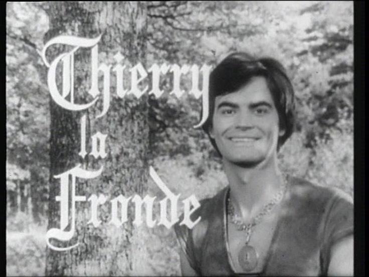 je rêvais devant Thierry la Fronde, mon premier amour télévisuel. Ta dada dadada dada...