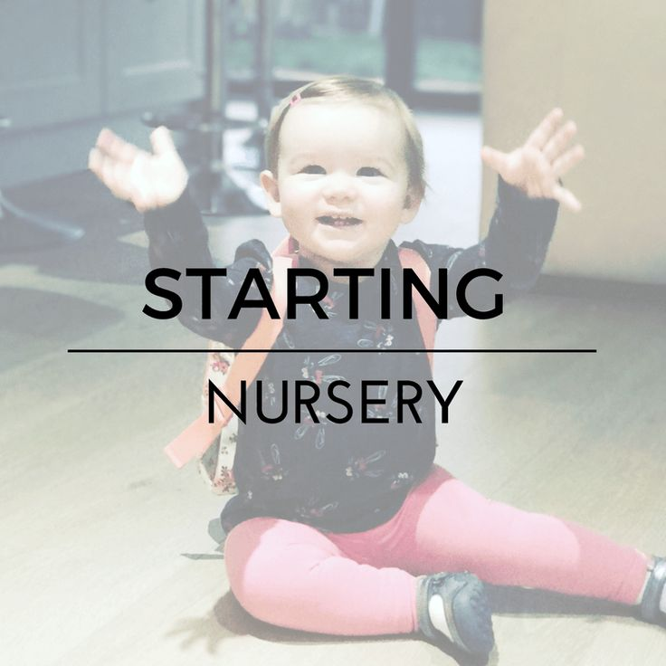 3 weeks in and Darcey is settling into nursery well. A few things have changed with our routine to make this as easy as possible.