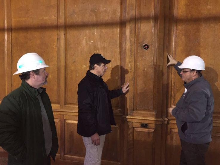 Glad to have NY Gov. Cuomo stop by for a visit of our historic Hotel Saranac!