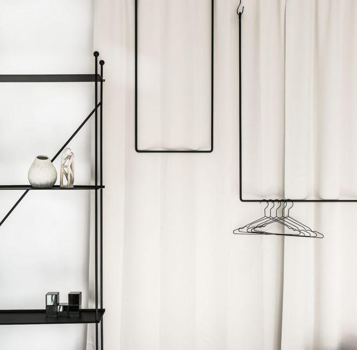 Clothing rail rectangle naked version – ANNALEENAS HEM AB