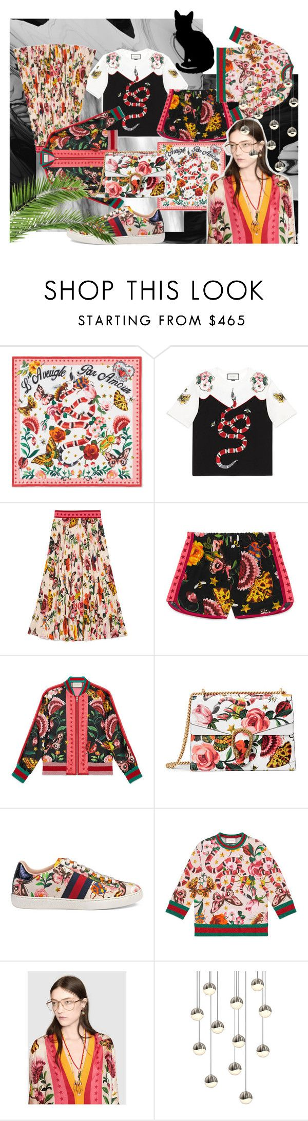 Gucci Garden Exclusive by stapleluc on Polyvore featuring Gucci and Sonneman