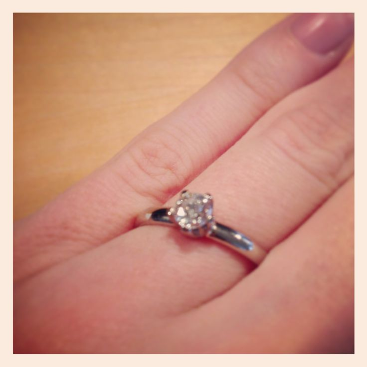 My engagement ring -love it