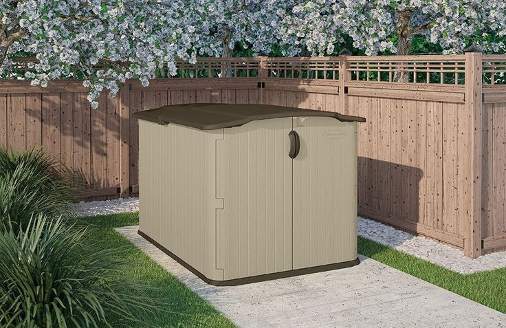 Low Height Shed – Suncast Glidetop Shed. Suncast's low-height shed receives exceptional feedback, delivering triple way lockable access, weather-resistance, sturdy build quality & easy-to-clean:
