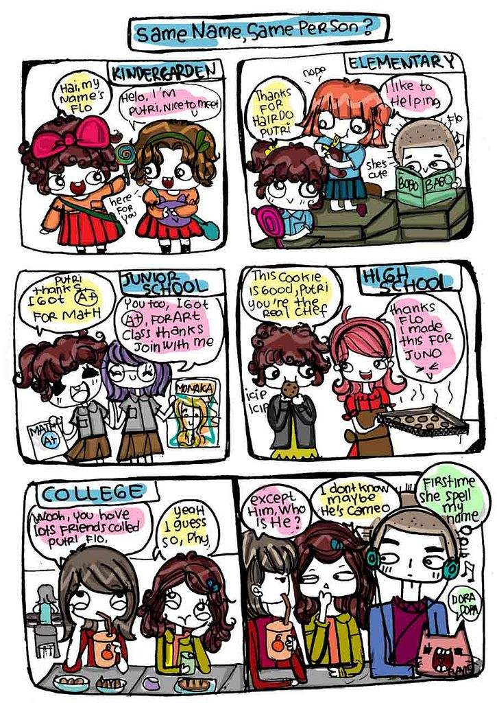 https://flic.kr/p/vbVkU9 | all about name? | see all my cute comic stips on tapastic.com/flayravenz