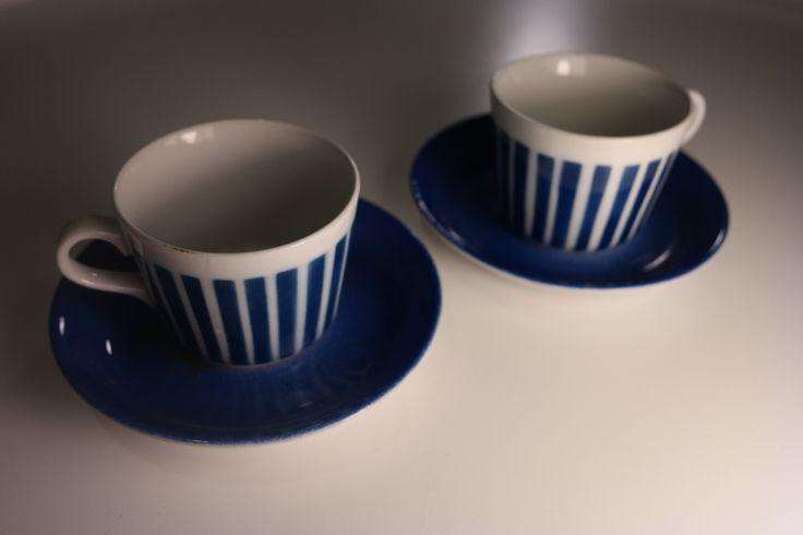 For sale - Myydään Arabian sininen Aita puhalluskuviokuppi - Huuto.net