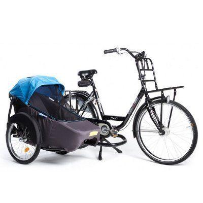 La Twinny Hera est une remorque de vélo originale car elle offre plusieurs modes de transport. Il es possible désormais de tracter son enfant tout en le regardant. Dans son « side-car », il sera aux premières loges pour vivre des sensations uniques:encore...