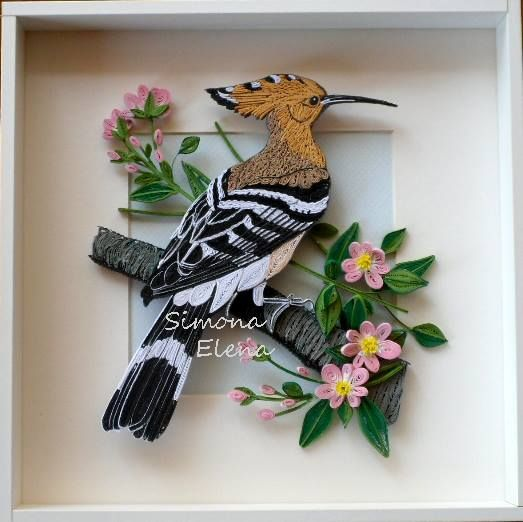wow!!! this is paper quilling!!! Such incredible talent!!!
