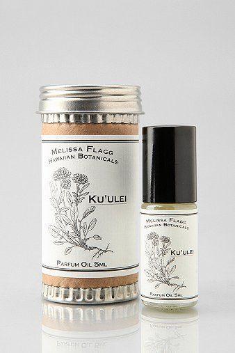 Melissa Flagg Hawaiian Botanicals Roll-On Perfume