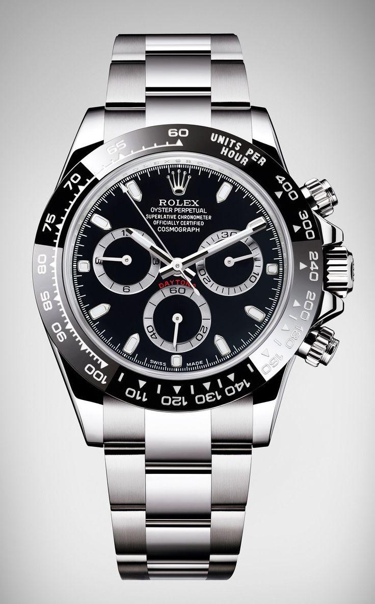 Rolex: Oyster Perpetual Cosmograph Daytona in Schwarz ...repinned für Gewinner!  - jetzt gratis Erfolgsratgeber sichern www.ratsucher.de