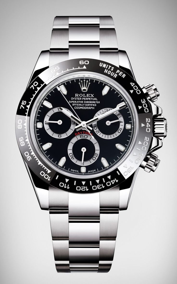 Rolex: Oyster Perpetual Cosmograph Daytona in Schwarz