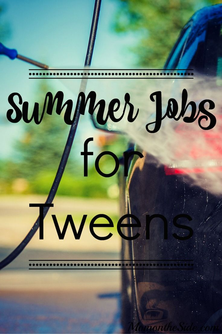 With a little effort and creativity, these Summer jobs for tweens could start a nice savings account, or provide for a few months of fun! ad