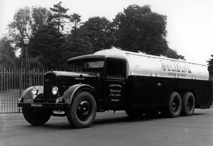 camion renault type zf6dc 130 cv 18 tonnes 1934  u00a9 renault communication    photographe inconnu