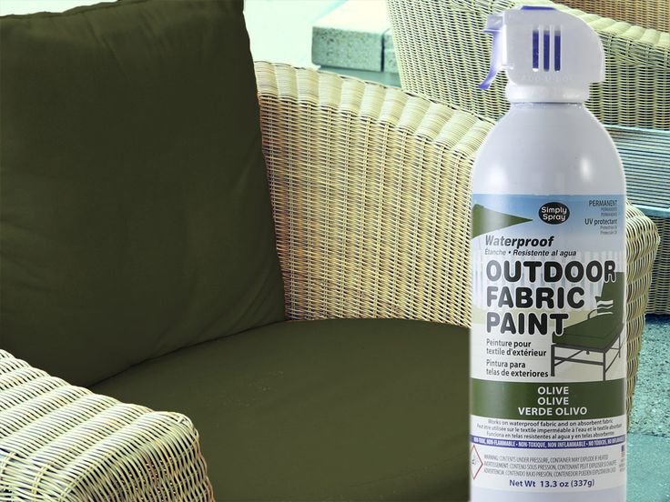 Fabric Spray Paint Ideas Part - 40: DIY - Spray Painting Outdoor Cushions With Rust-Oleum | DIY Why Spend More  | Pinterest | Outdoor Cushions, Spray Painting And Rust