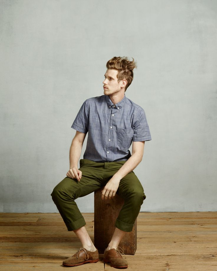 Steven Alan Spring '13: Single Needle Shirt, Saratoga Pant