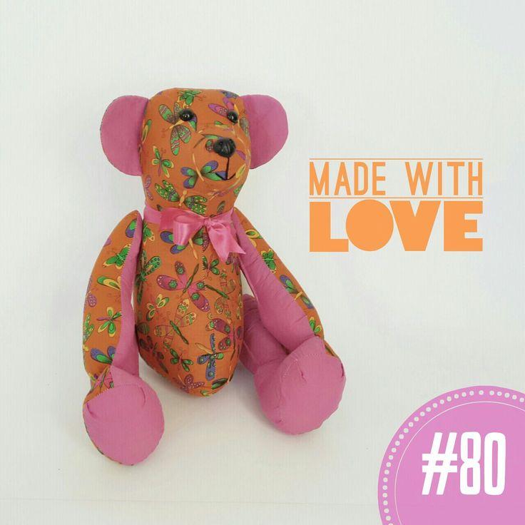 #80 Orange Butterfly i-Bear #Teddy #Bear #Butterfly #Kids #Soft #Toy
